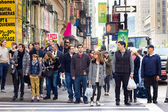 NYC Pedestrians — Stock Photo
