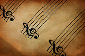 Music Paper — Стоковое фото
