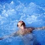 Water massage — Stock Photo