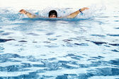 One can not swim — Stock Photo