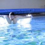 Sport swimmer — Stock Photo #9091357