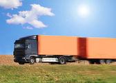 Lorry,Cargo — Stock Photo