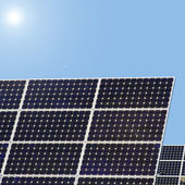 Collects solar energy solar — Stock Photo