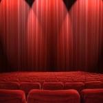 Lights in the auditorium — Stock Photo