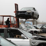 Car truck brings the press — Stock Photo #9284692