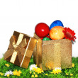 Easter Gift Box — Stock Photo