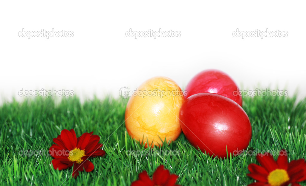Beautiful decorations for the Easter — Stock Photo #9796790
