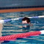 Swimmer swimming — Stock Photo