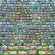 An ancient stone wall — Stock Photo