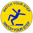 Stock Photo: Watch your step