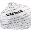 Wastage is also a loss of — Stock Photo