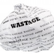 Stock Photo: Wastage is also loss of