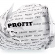 Stock Photo: No profit - no victory