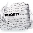 No profit - no victory — Stock Photo