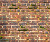 Ancient brick wall — Stock Photo