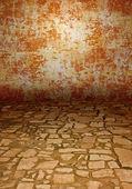 Antik taş döşeme — Stok fotoğraf