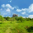 View of mount Sigiriya, Sri Lanka (Ceylon). — Stock Photo