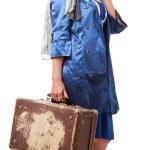 Single woman traveling — Stock Photo