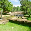 Ruins of the sacred city Anuradhapura, Sri Lanka - Stock Photo