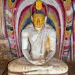 Interior of royal rock temple in Dambulla — Stock Photo #9205675