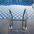 Swimming Pool with stair - Stockfoto