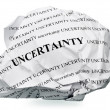 Stock Photo: End uncertainty