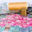 Royalty-Free Stock Photo: The art of embroidery
