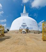 Ruvanmali Maha Stupa Anuradhapura — Stock Photo