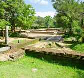 Ruins of the sacred city Anuradhapura, Sri Lanka — Stock Photo