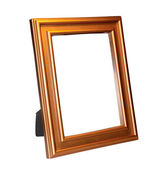 Decorative frame for a photo on a white background — Stock Photo
