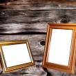 Decorative frame for a photo — Stock Photo