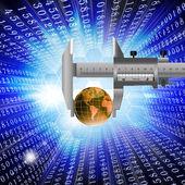 Innovative internet technology — Stock Photo