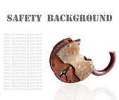 Safety concept.Background — Stock Photo
