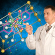 Scientific medical researches - Stock Photo