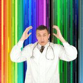 новаторские научные исследования в области генетики — Стоковое фото