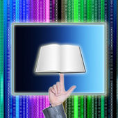 The Internet education — Stock Photo