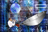 The newest Internet technologies — Stock Photo