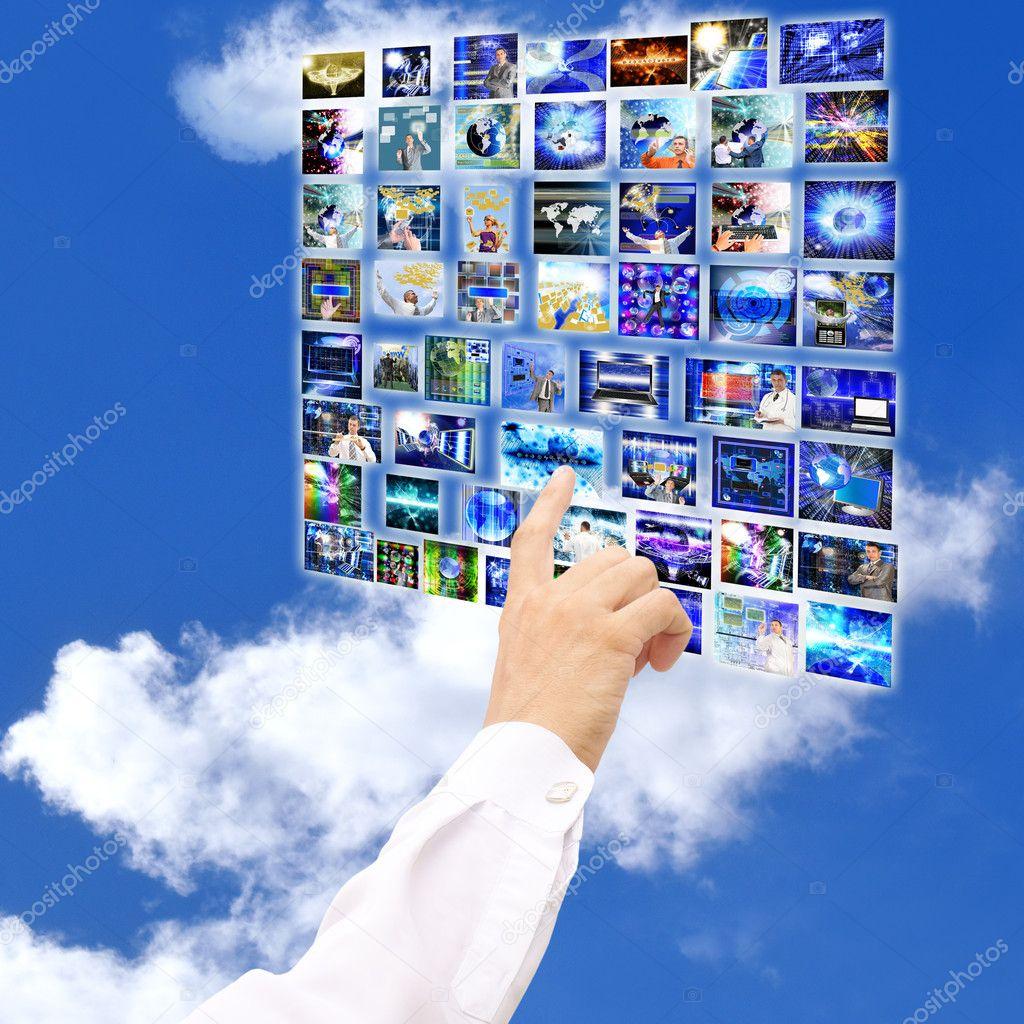 数字计算机技术的社会网络互联网