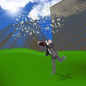 Anti-recessionary dollar credits — Stock Photo