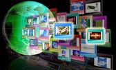 O conceito da internet — Fotografia Stock