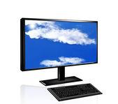 Innovativa datorer teknik — Stockfoto