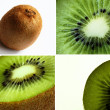 Kiwi quartet — Stock Photo