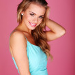 Pretty Young Blonde Woman — Stock Photo
