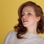 Attractive redhead portrait — Stock Photo