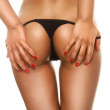Seduction In A G-string — Stock Photo #9708226