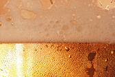 Beer foam. — Stock Photo