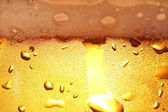 Beer with foam. — Stock Photo
