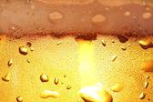 Beer with foam. — Stock Photo