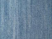 蓝色织物纹理. — 图库照片