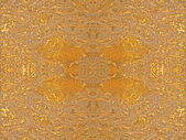 Golden abstract decorative pattern. — Stock Photo